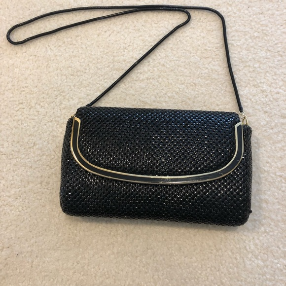 Springwood Handbags - Springwood  Black chain mail  shoulder bag